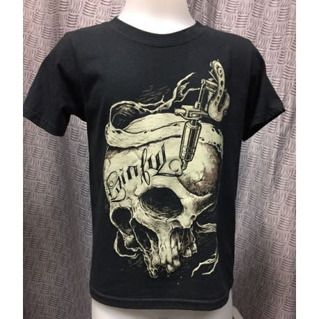 painful clothing - Tattoo addict kid T shirt