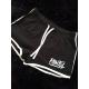 Woman black and white hotpant