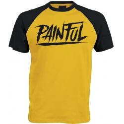 raglan T shirt baseball Unisex trash logo