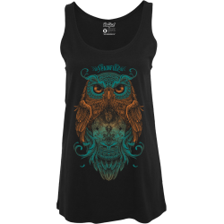 Woman tank Owl