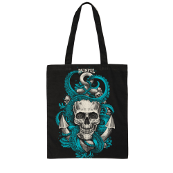 Tote Bag Octoskull