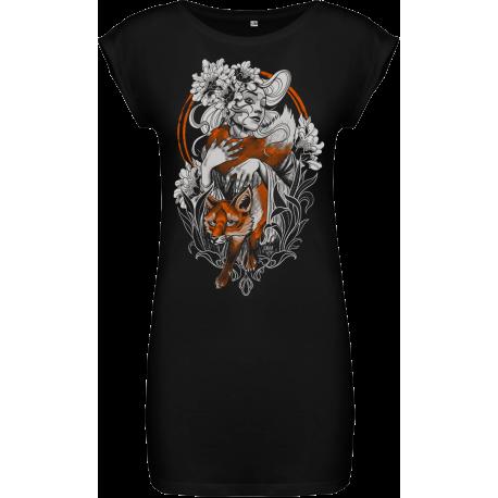 Darkness T dress