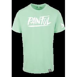 T shirt Trash logo menthe