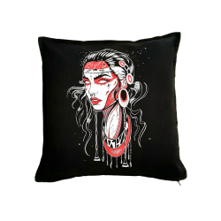 Testa Rossa pillow